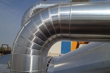 cladding method statement of GI ducts