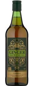Sainsburys Green Ginger Wine