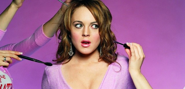 Lindsay Lohan make-up from mean girls