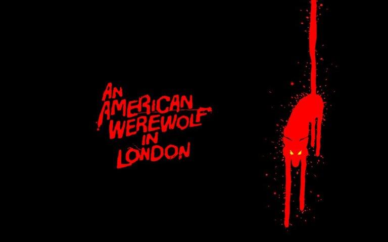 An American Werewolf in London - stylish movie poster