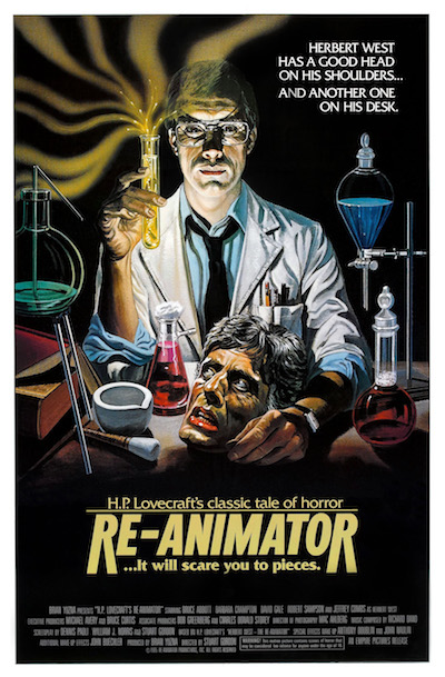 re-animator film poster