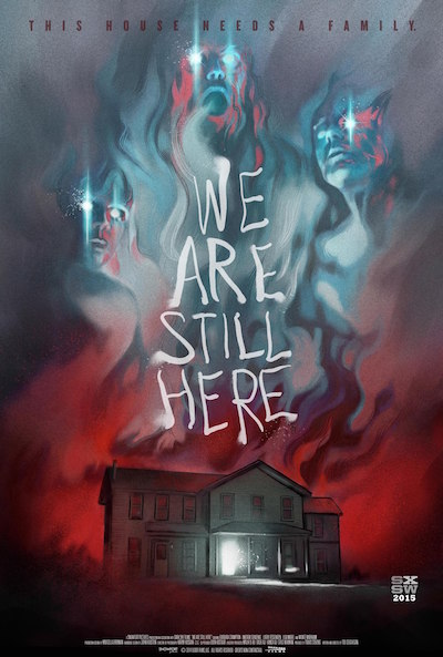 we are still here film poster