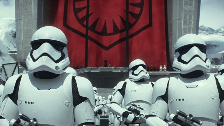 star wars first order stormtroopers from force awakens