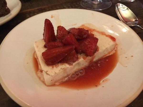 Bombetta London Strawberry & Mascarpone Semifreddo