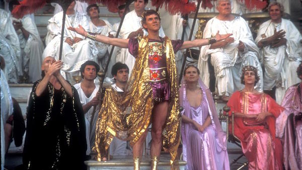 Malcolm McDowell as Emperor Gaius Germanicus Caesar [Caligula] Caligula, 1979 USA/Italy aka Caligola Supplied by WENN This is a PR photo. WENN does not claim any Copyright or License in the attached material. Fees charged by WENN are for WENN's services only, and do not, nor are they intended to, convey to the user any ownership of Copyright or License in the material. By publishing this material, the user expressly agrees to indemnify and to hold WENN harmless from any claims, demands, or causes of action arising out of or connected in any way with user's publication of the material.