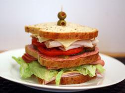 Sandwich-post