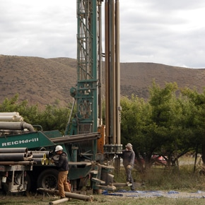 Evaluation of test well remains on hold