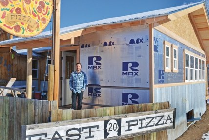 Ryan Clement, owner of East 20 Pizza, has expanded the restaurant several times and has more growth in mind. File photo from January 2014 by Laurelle Walsh