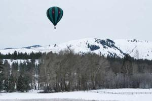 The Outer Limits Balloon out of Newberg, Oregon. Photo by Darla Hussey