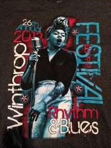 Last year's festival t-shirt.