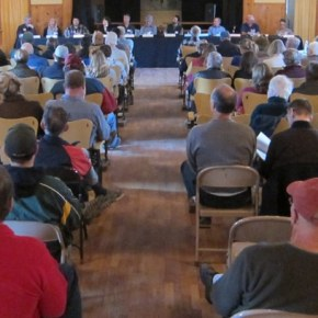 Candidates' forum draws packed house