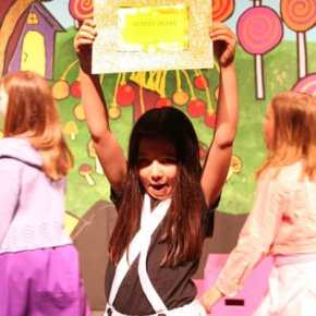 The golden tickets are key to Wonka's plot to retire. Photo by Darla Hussey