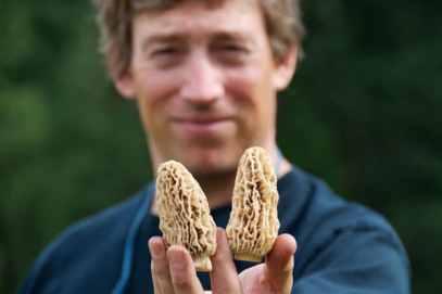 Langdon Cook, author of The Mushroom Hunters.