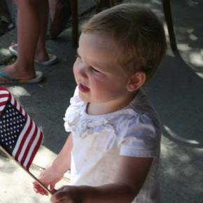 It was a picture-perfect day for the Fourth of July Parade. Photo by Darla Hussey