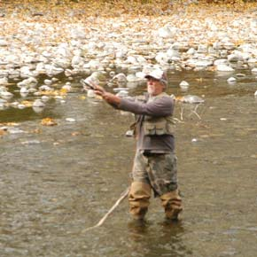 Fishermen 'having a ball' on Methow River