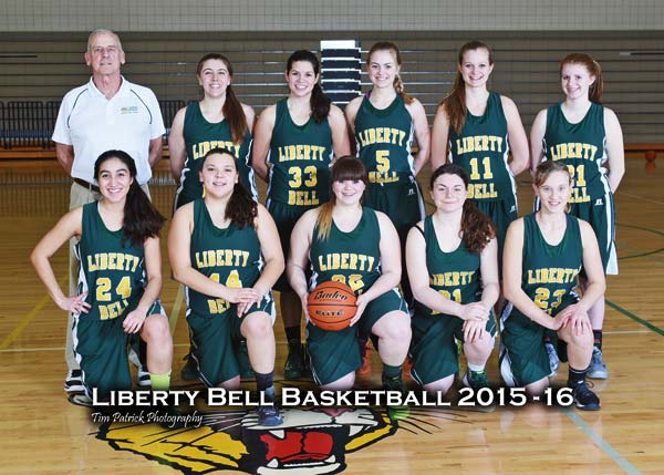 Photo by Tim Patrick Photography The LBHS girls' varsity team: Back row from left, coach Ed Smith, Haley Bakke, Monica Chavey, Lauren Fitzmaurice, Katie Labanauskas, Carlynn Treise. Front row from left, Exie Romero, Lauren Ochoa, Nadine Treise, Amanda Dwinell, Emily Paul.