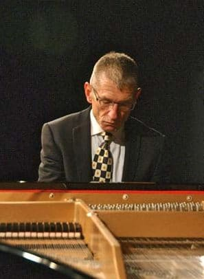 Photo courtesy of Steve Mitchell Local pianist Michael Brady performs on Saturday and again on Oct. 8.