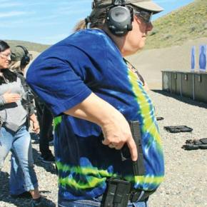 Firearms training focuses on safety