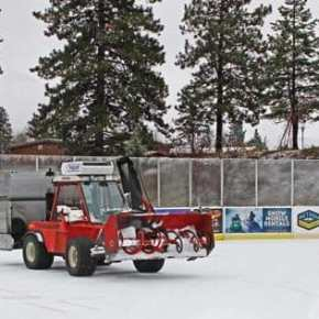Ice rink set to open Friday with new surface