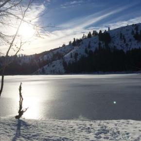 Patterson Lake in the afternoon on Dec. 14, 2014. Photo by Patty Payne