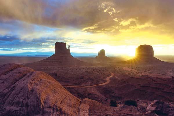 "Photo by Lidija Kamansky National Geographic likes Lidija Kamansky's ""Daybreak at Monument Valley."""