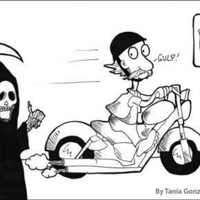 Motorcycles vs. Highway 20