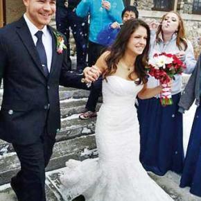 Cory-Radwick wedding