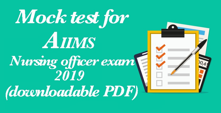 AIIMS mock test