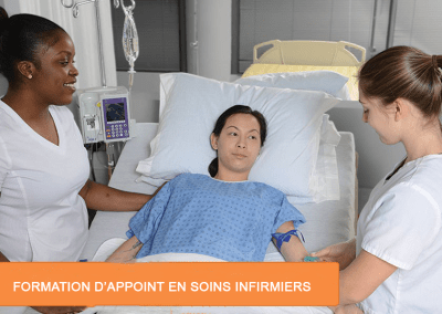Formation d'appoint : infirmiers / infirmières auxiliaires (OIIAQ)