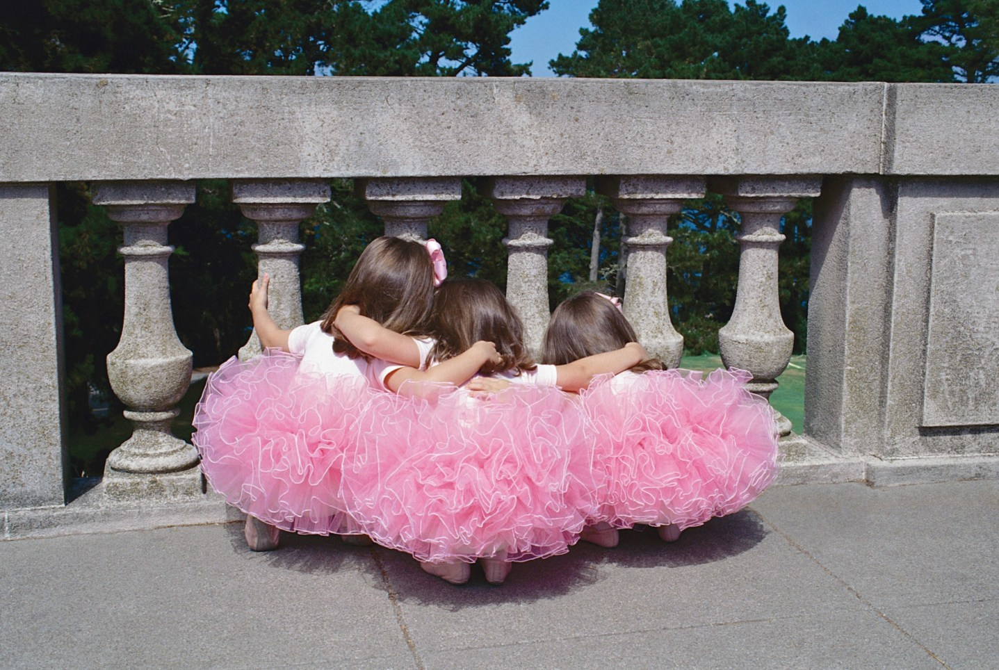SWEET INNOCENCE AND BALLET TRIPLETS PHOTO AWARDS 004684 (Custom)