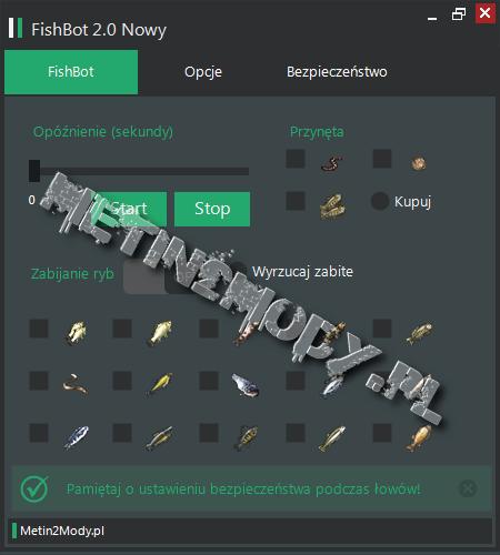 FishBot Nowy 2.0 Metin2Mody