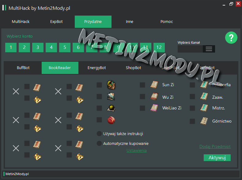 Hacki do Metin2