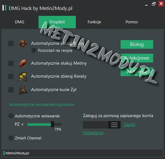DropBot Metin2