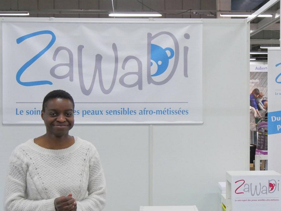 Zawadi, spécialiste de la peau des enfants métis
