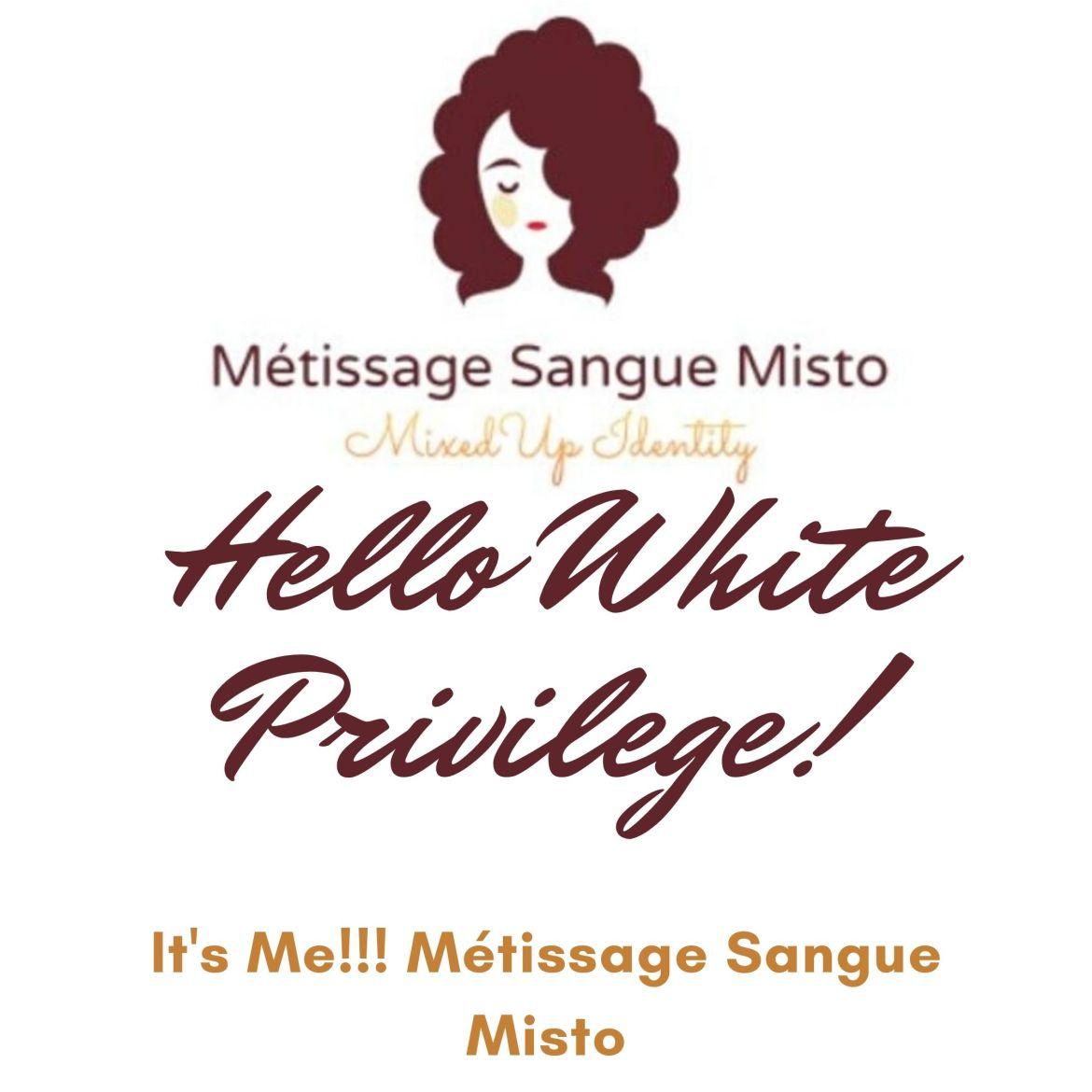 Hello White Privilege!