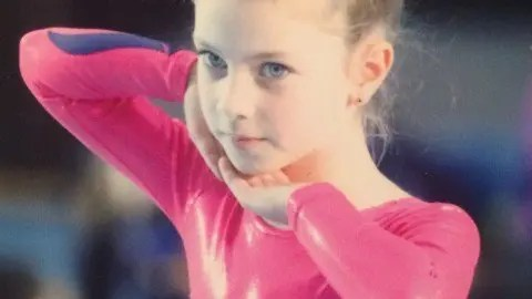 Jodi brings home first place in Gymnastic finals