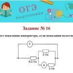 Задание №16. ОГЭ подготовка. Физика. 9 класс