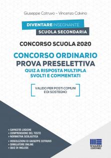 concorso Scuola 2020 - Concorso ordinario Prova preselettiva - Quiz a risposta multipla svolti e commentati