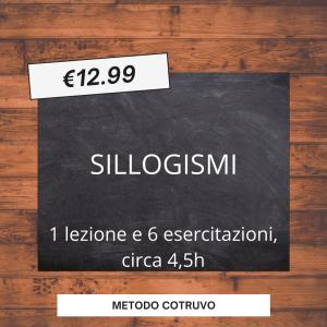 SILLOGISMI