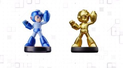 He aquí Megaman y su dorado ─y difícil de conseguir─ hermano.