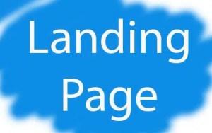 landing page - landing page