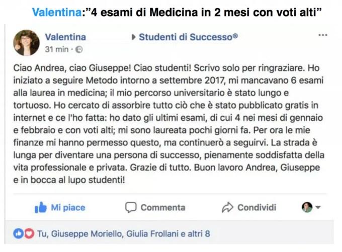 Metodo di Studio Universitario - 4 esami di medicina in 2 mesi con voti alti