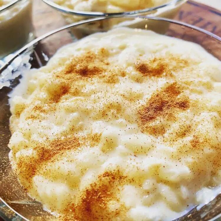 Rizogalo, Greek rice pudding recipe