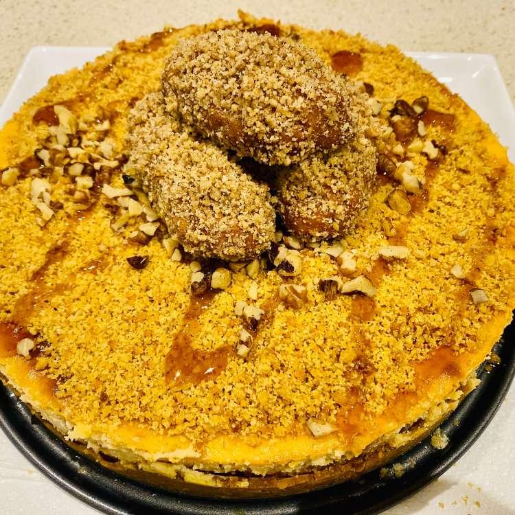 melomakarona cheesecake greek honey cookie cheesecake recipe