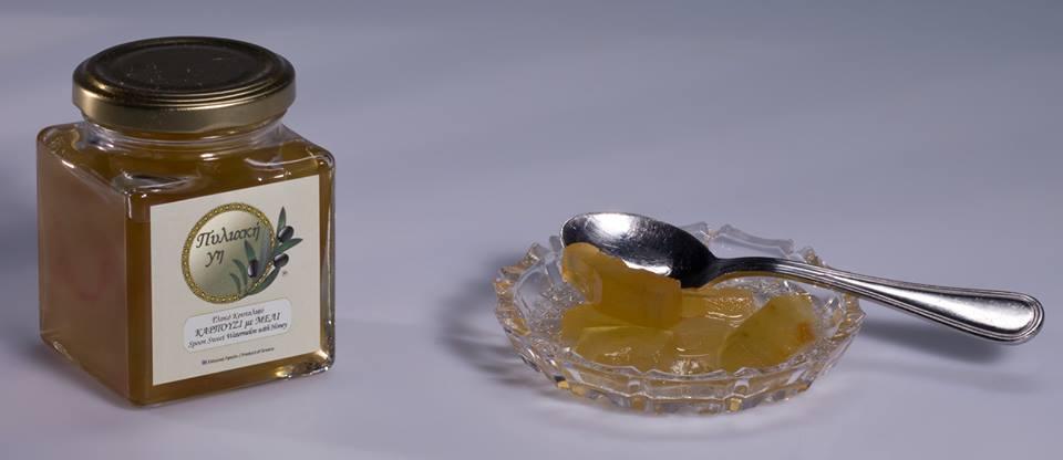 γλυκό κουταλιού καρπούζι
