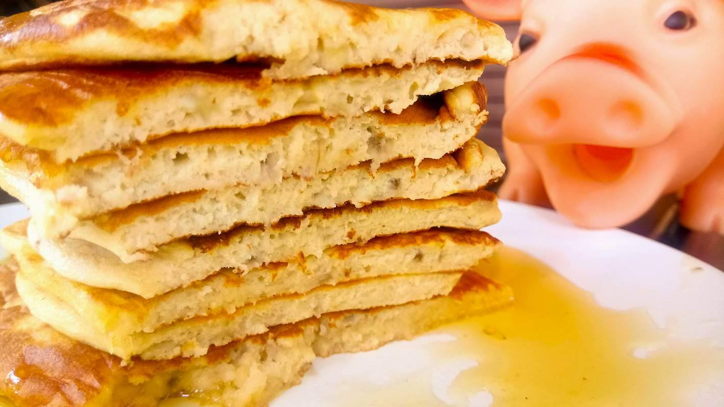 You are currently viewing Τα μπανανοpancakes, της Νεφέλης.