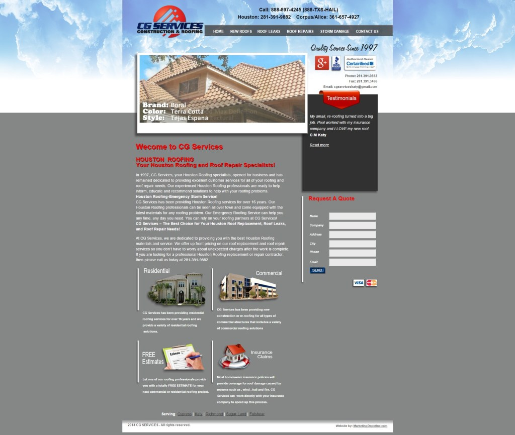 CG Roofing