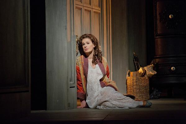 """Sophie Koch as Charlotte in Massenet's """"Werther.""""  Photo: Ken Howard/Metropolitan Opera"""