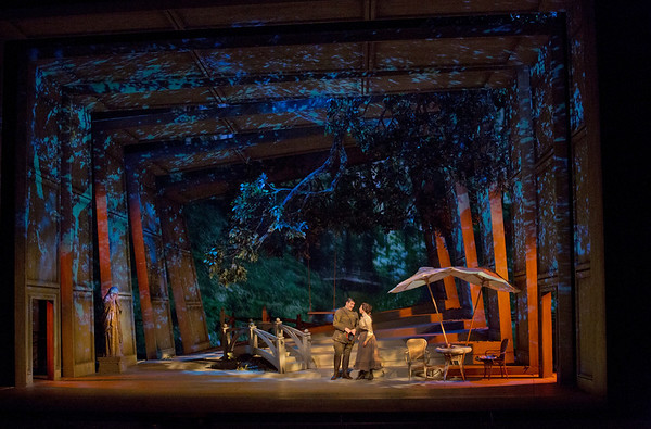 "A scene from Massenet's ""Werther.""  Photo: Ken Howard/Metropolitan Opera"