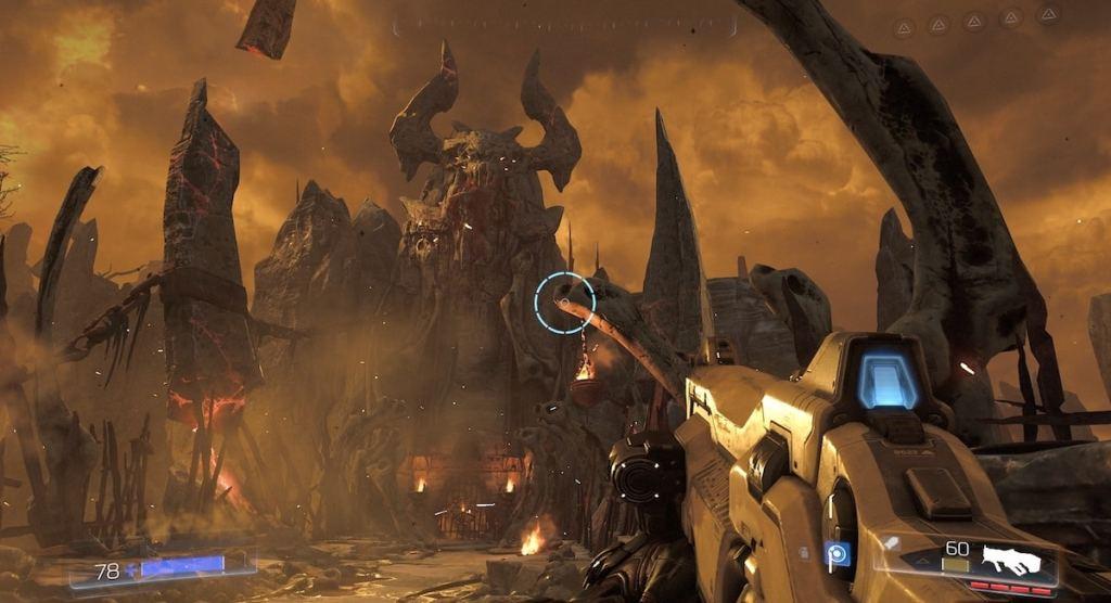 من لعبة Doom 2.